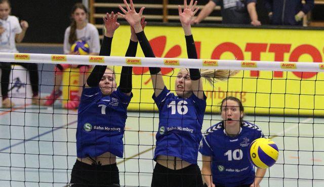 Volleyball-Team Hamburg empfängt VC Olympia Schwerin - Foto: VTH/Lehmann