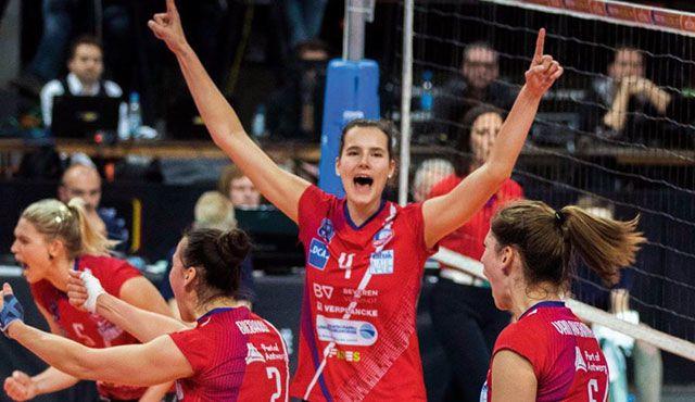 Belgische Nationalspielerin verpflichtet: Mittelblockerin Nathalie Lemmens verstärkt VCW  - Foto: Guy Verbraeken)