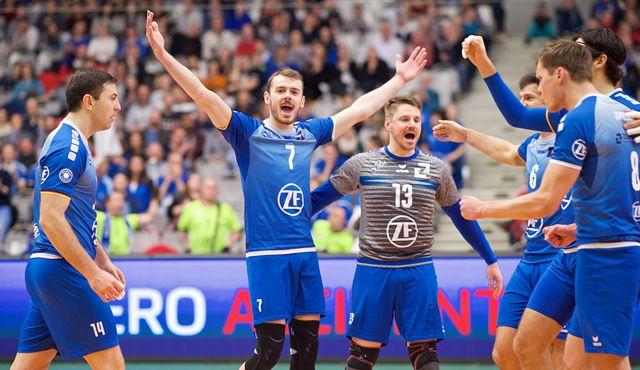 Rückrundenauftakt in der ZF Arena - Foto: Günter Kram
