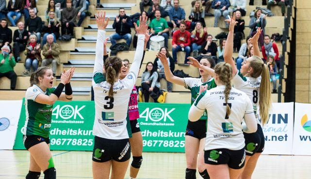 proWIN Volleys empfangen zum ersten Spiel im neuen Jahr Mitaufsteiger VC Wiesbaden 2 - Foto: Georg Kunz
