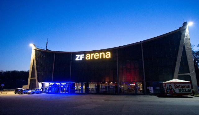 ZF Arena wird geschlossen - Foto: Kurth