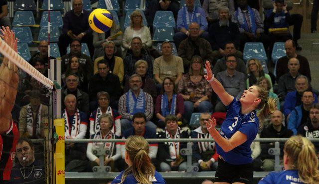Volleyball-Team Hamburg mit Niederlage vor großer Kulisse in der CU Arena  - Foto: VTH/Lehmann