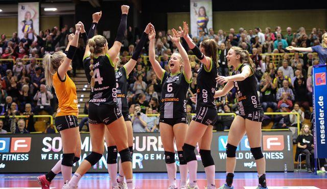 Punkten die Ladies in Black erneut gegen Wiesbaden? - Foto: Ladies in Black Aachen\\ Luz Müller