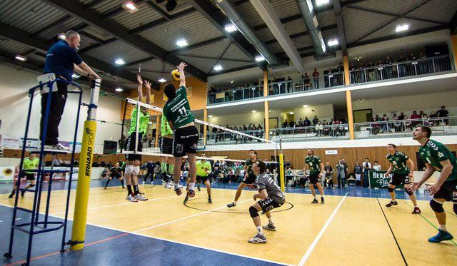 Netzhoppers im Hintertreffen um Viertelfinal-Einzug - Foto: Gerold Rebsch
