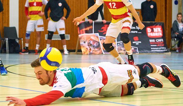 BADEN VOLLEYS mit schmerzhafter Niederlage  - Foto: Andreas Arndt