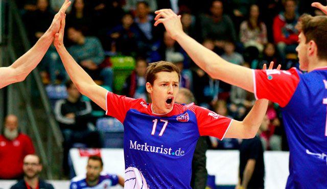 Zimmermann als Vater des Erfolgs - Foto: United Volleys/Gregor Biskup