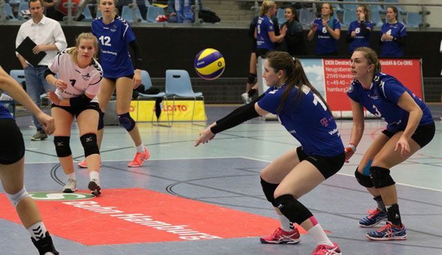 Volleyball-Team Hamburg erkämpft sich den Heimsieg  - Foto: VTH/Lehmann
