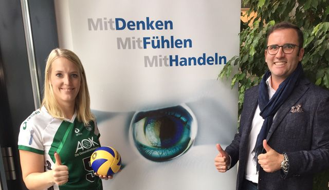 Ophthalmo Pro GmbH wird Premiumpartner der proWIN Volleys TV Holz - Foto: proWIN Volleys TV