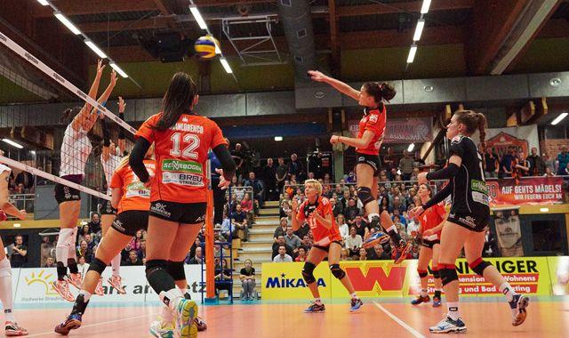 NawaRo spielt gegen Aachen sensationellen Volleyball - Foto: German Popp