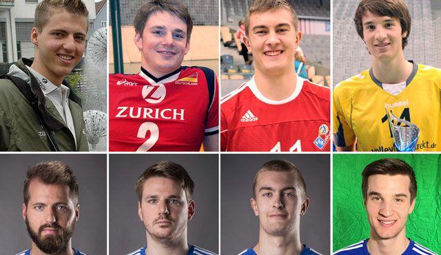 Vier Ex-YoungStars im Profi-Kader - Foto: VfB Friedrichshafen Volleyball GmbH, Gunthild Schulte-Hoppe