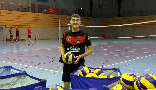 Für Deutschland und den TVR: Moritz Karlitzek über seine Eindrücke bei der Nationalmannschaft - Foto: Markus Ulmer
