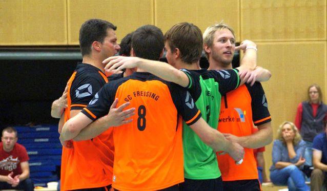 Geglückte Revanche und guter Rückrundenauftakt für SCF-Volleyballer - Foto: SC Freising