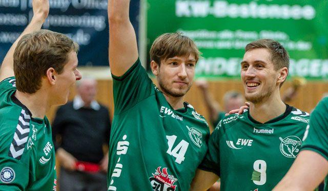 Netzhoppers im Liga-Endspurt auf voller Höhe - Foto: Gerold Rebsch