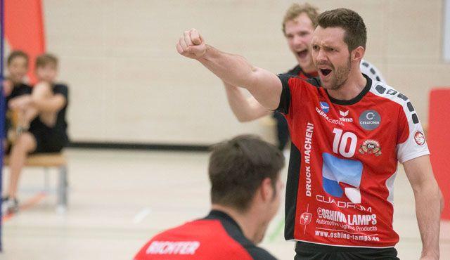 Eltmanner Oshino-Volleyballer sicherten mit 3:0-Auswärtssieg die Tabellenführung in Dresden - Foto: Oshino Volleys Eltmann