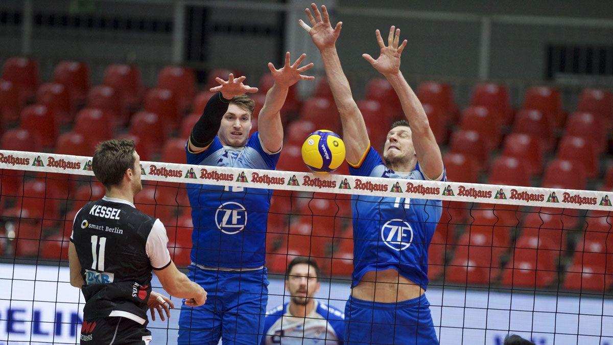 Der Showdown der Volleyball-Schwergewichte - Foto: Kram