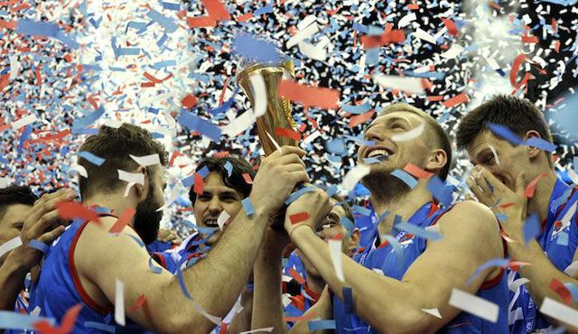 Serbien erstmals Champion - Foto: FiVB