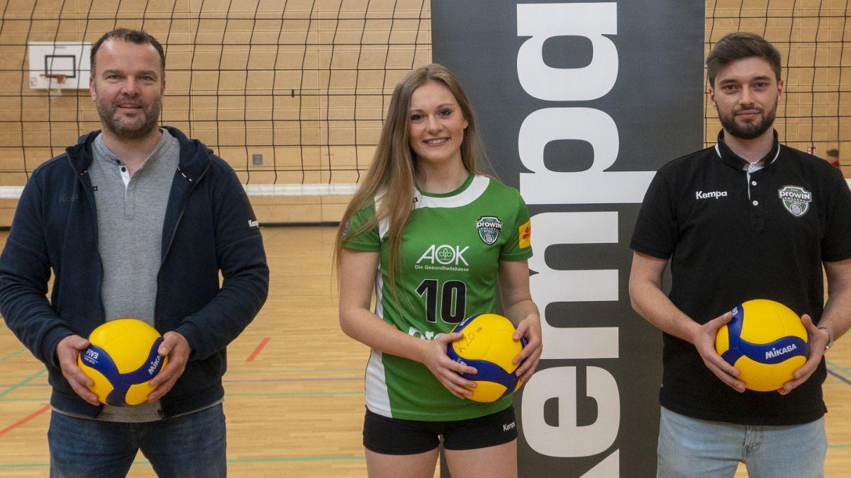 proWIN Volleys TV Holz spielen weiterhin in KEMPA - Foto: Steven Weber
