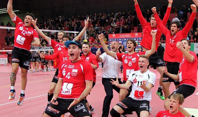 TV Rottenburg: DVV-Pokal Achtelfinale mit schlagbaren Gegner - Foto: Stefan Eissler