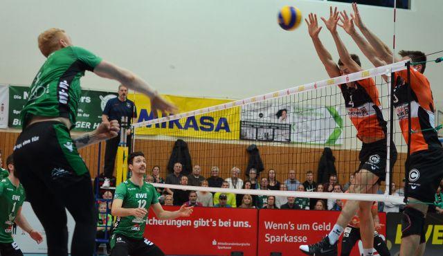 Netzhoppers SolWo Königspark KW unterliegen im Pokal-Viertelfinale - Foto: Dagmar Jaschen
