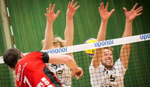 Ritt auf der Rasierklinge - doch Test bestanden - Foto: Oshino Volleys Eltmann