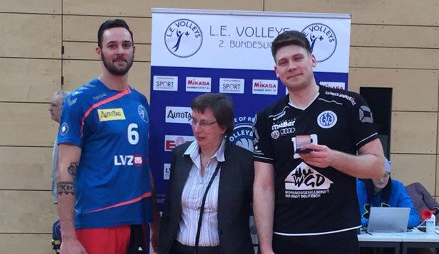 Delitzsch revanchiert sich im Rückspiel-Derby - Foto: L.E. Volleys