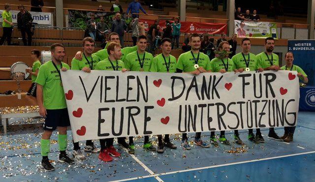 MITGAS präsentierte: Piraten zur Meisterschaft getragen - Foto: Chemie Volley Mitteldeutschland e. V.