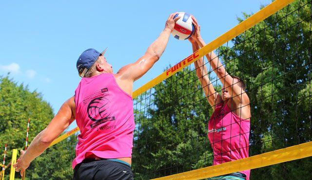 Die besten Westdeutschen Mixed-Teams auf Holzwickeder Beach-Courts - Foto: Klaus Kuhne