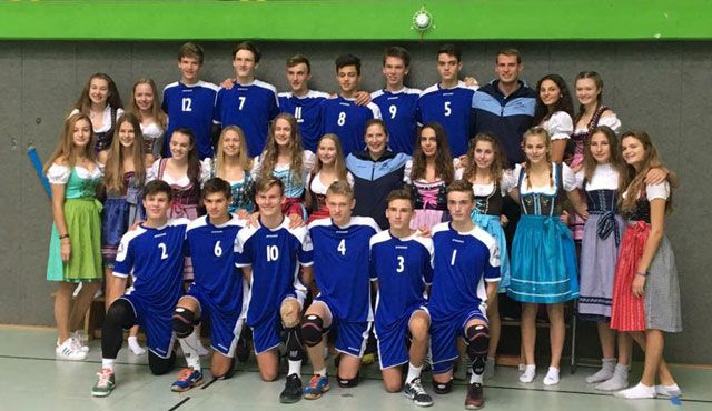 Auswahlteams des Bayerischen Volleyball-Verbands holen Gold und Silber - Foto: Thomas Wobbe
