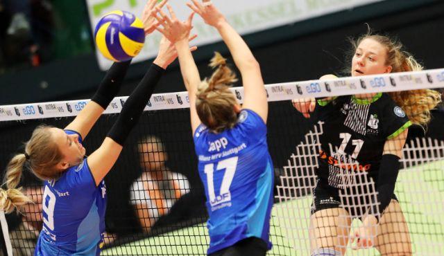 Maja Storck greift auch nächste Saison mit Aachen an - Ladies in Black Aachen // Andreas Steindl