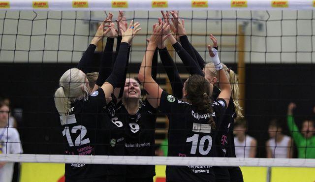 Dritter Sieg in Folge für das Volleyball-Team Hamburg - Foto: VTH/Lehmann