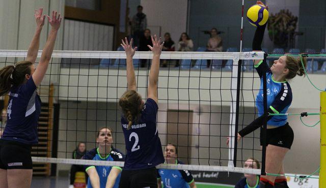 Volleyball-Team Hamburg feiert ersten Saisonsieg - Foto: VTH Lehmann