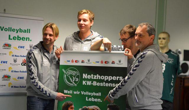 Netzhoppers starten in die neue Spielzeit - Foto: Dagmar Jaschen