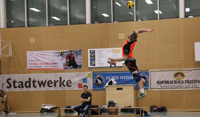 Freisinger Volleyballer springen auf einen Nichtabstiegsplatz - Foto: SC Freising