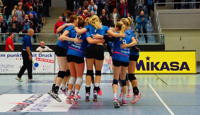 VT Aurubis Hamburg beendet Hinrunde gegen den USC Münster - Foto: VT Aurubis Hamburg