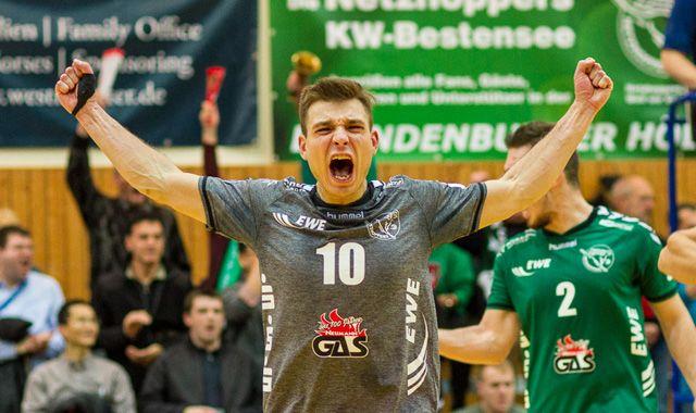Netzhoppers holen ersten Saisonsieg - Foto: Gerold Rebsch