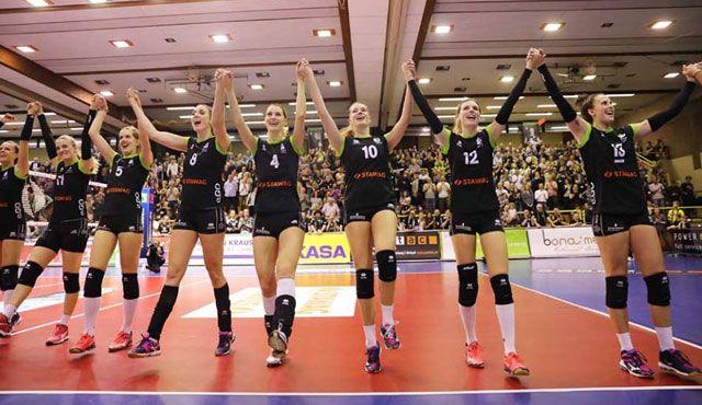 Ladies in Black Aachen zeigen sehr starkes Spiel gegen Rote Raben Vilsbiburg - Foto: Ladies in Black Aachen
