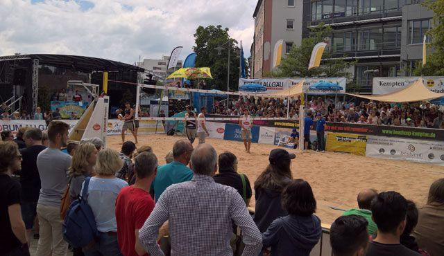 1.200 Zuschauer – Kempten als Zuschauermagnet - Foto: Kettenbohrer