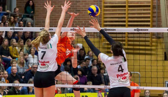 Drei Derbys bis Platz drei für NawaRo Straubing - Foto: Schindler