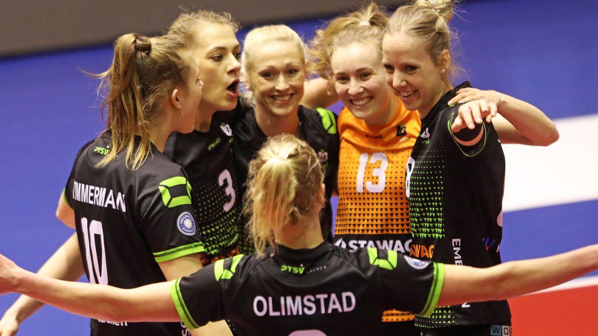Power-Ladies siegreich gegen Wiesbaden - Foto: Ladies in Black Aachen\ Andreas Steindl