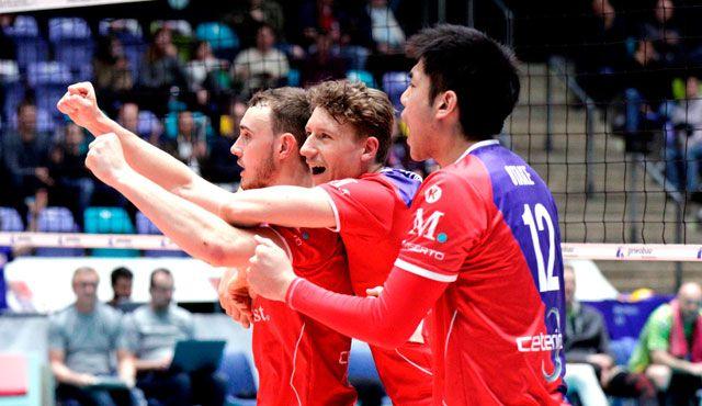 Aller guten Dinge sind drei - Foto: United Volleys/Gregor Biskup