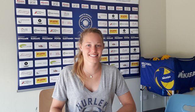 Mie Maleen Dickau wird neue Libera beim Volleyball-Team Hamburg - Foto: VTH