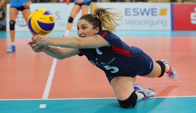 """VC Wiesbaden schlägt Einführung der """"Torwartregel"""" im Volleyball vor - Foto: Detlef Gottwald"""