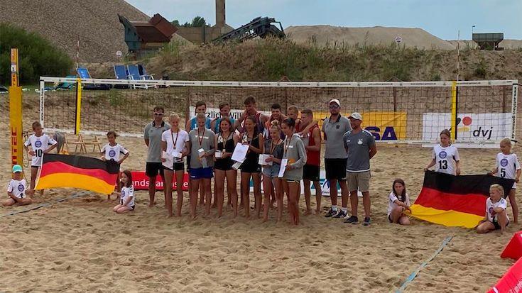 Deutsche Beachmeisterschaft U16 in Barby - Foto: DVV