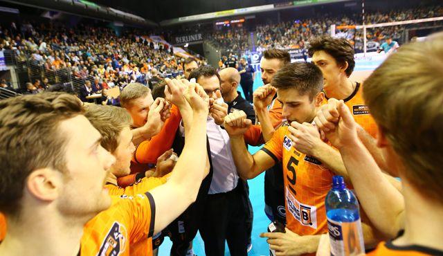 Heimspiel im DVV-Pokal-Halbfinale - Foto: Eckhard Herfet