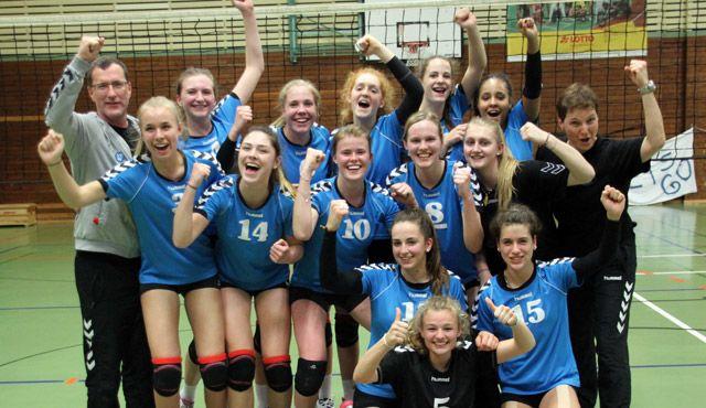 U18 des VC Wiesbaden belegt tollen 5. Platz bei Deutscher Meisterschaft - Foto: VC Wiesbaden