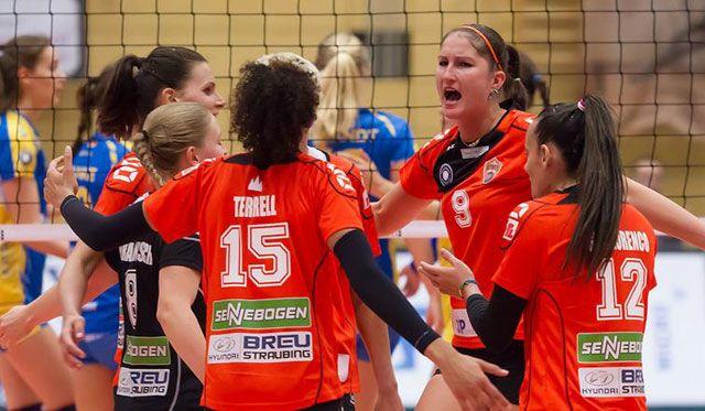 Straubings Volleyballerinnen sind heiß auf das Duell mit dem VC Wiesbaden - Foto: Schindler