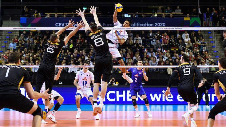 Traum von Olympia geplatzt ? 0:3 vs. Frankreich im Finale - Foto: Conny Kurth