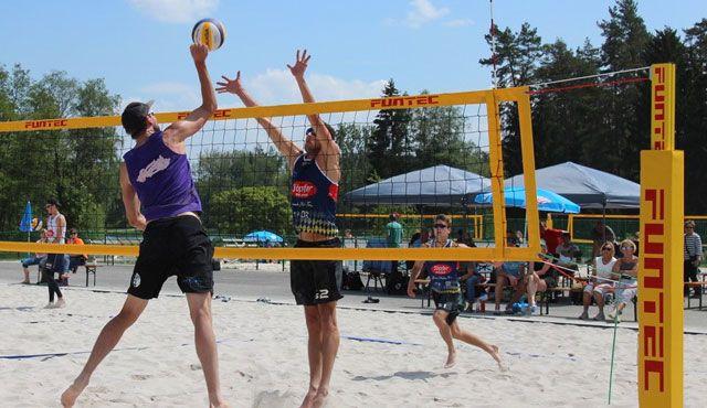 Favoritensiege beim BVV Beach Masters im Schätzlerbad - Foto: TB Weiden
