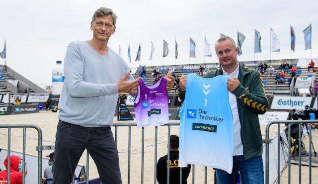hummel goes Volleyball - Neuer Ausrüster in der Halle, Beach und Snow - Foto: Conny Kurth / DVV