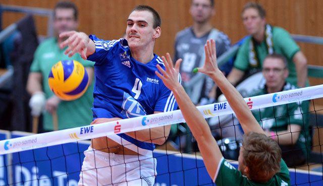 Friedrichshafen im DVV-Pokalfinale - Foto: Gesa Katz